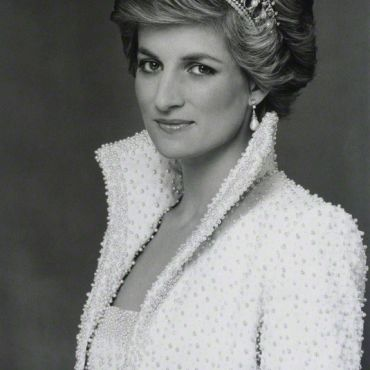 Terence Daniel Donovan Diana in elvis jacket