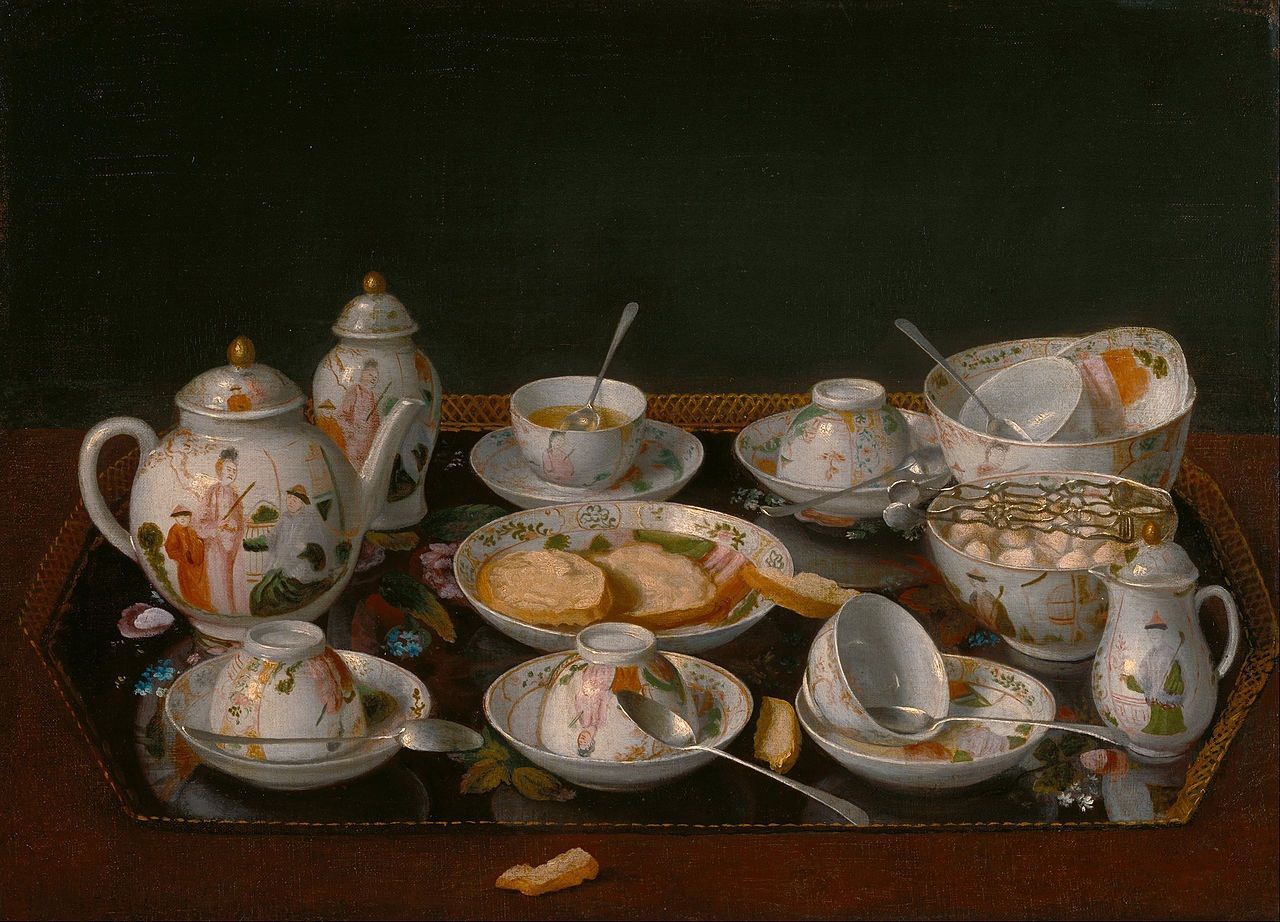 Jean-Étienne Liotard  Still Life Tea Set