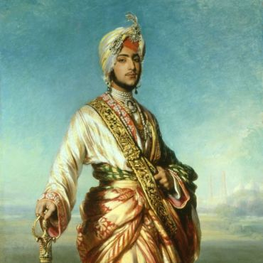 Winterhalter (1805-1873), The Maharaja Duleep Singh (1838-93), 1854