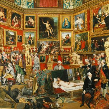 Johan Zoffany The Tribuna of the Uffizi 1772