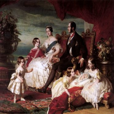 EDM-Queen-Victoria-Prince-Albert-and-children-by-Franz-Xaver-Winterhalter
