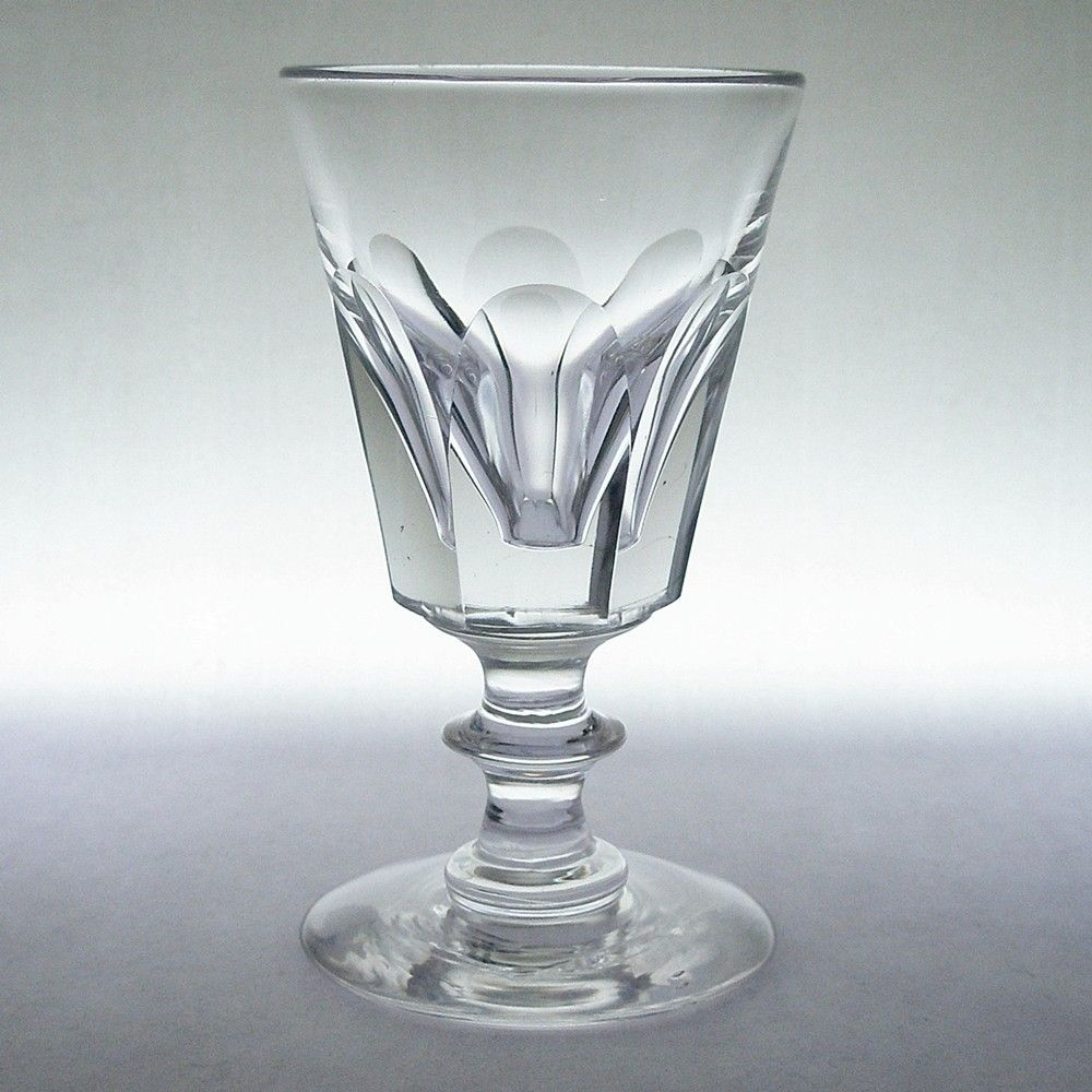 georgian-antique-deceptive-flute-cut-small-wine-glass-c1820