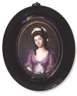 James Scouler, (England, 1740-1812) portrait miniature (Mrs Jolly), London, circa 1783 The Johnston Collection (A0780-1989, Foundation Collection) image © The Johnston Collection, Australia