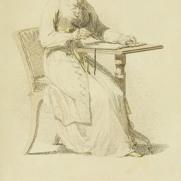 1813-v10-Ackermanns-fashion-plate-12---Morning-Dress