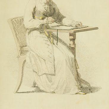 1813-v10-Ackermanns-fashion-plate-12---Morning-Dress