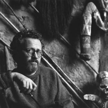 1965-Geoff-Hawkshaw-Portrait-of-Cliton-Pugh-NLA