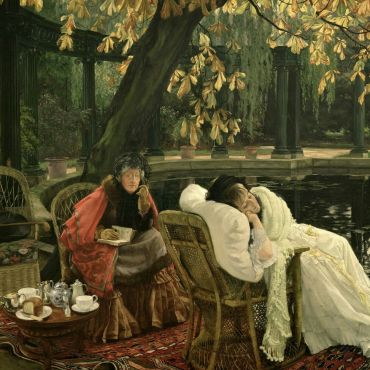 James-Tissot-The-Convalescent
