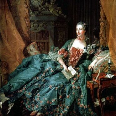 Francois Boucher Portrait of Madame de Pompadour