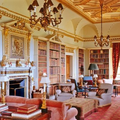 Long Library, Holkham Hall, Norfolk 3