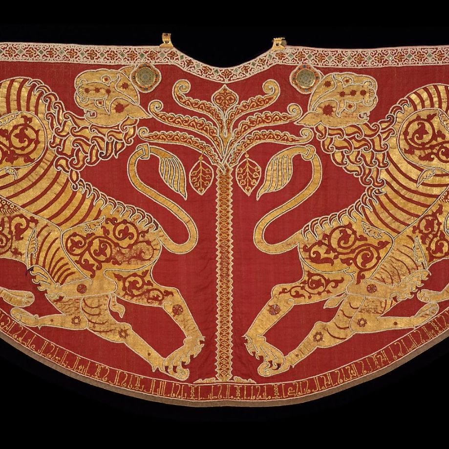 Mantle-of-Roger-II-of-Sicily