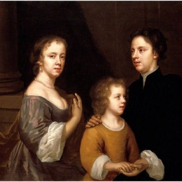 Self-Portrait of Mary Beale with Her Husband and Son
