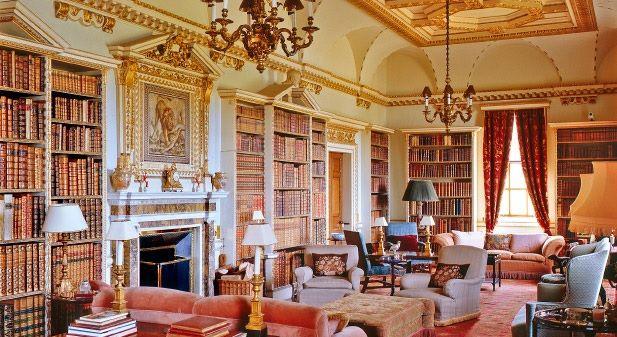Long Library, Holkham Hall, Norfolk 3