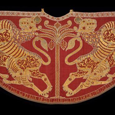 Mantle-of-Roger-II-of-Sicily