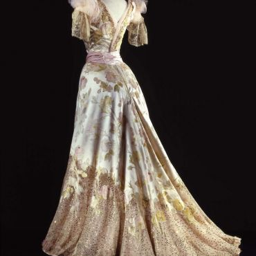 Charles Frederick Worth Ball Gown